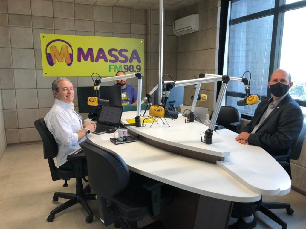 Entrevista Rádio Massa