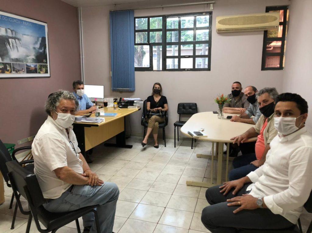 Reunião Prefeitura Foz do Iguaçu