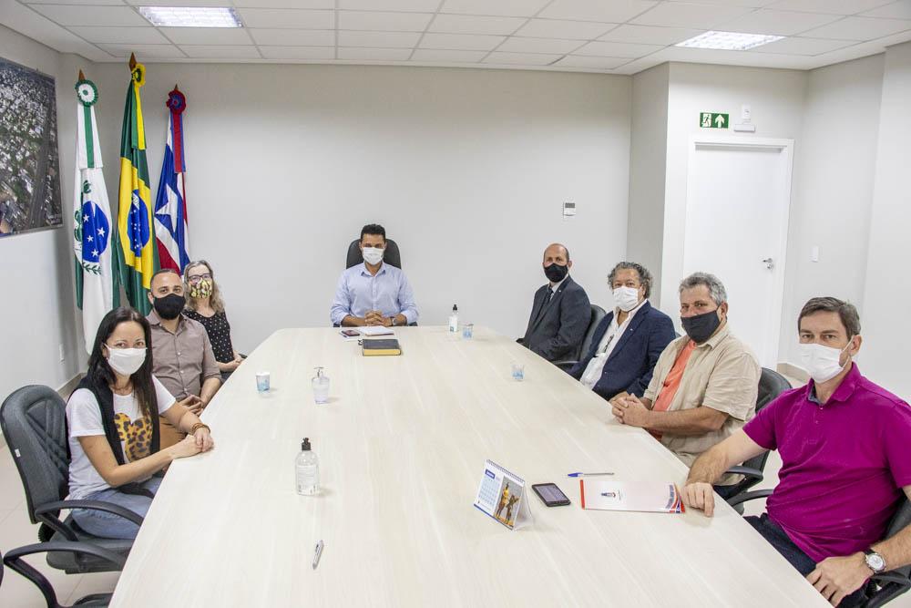 Reunião Prefeitura Medianeira