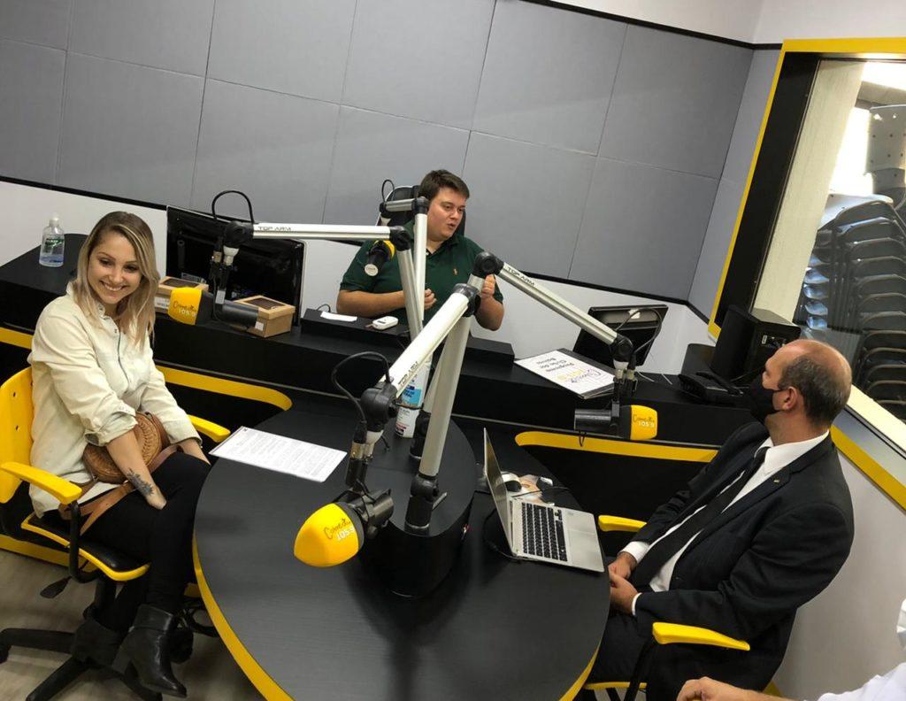 Entrevista Rádio Colmeia